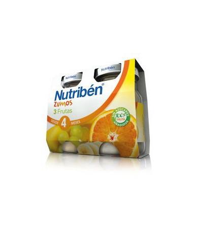 Nutriben Zumo 3 Frutas 130...