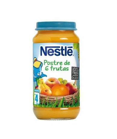 Nestle Postre 6 Frutas 250 G