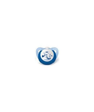 Chupete Silicona Azul T- 1