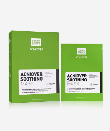 Martiderm Acniover Soothing Mascarillas