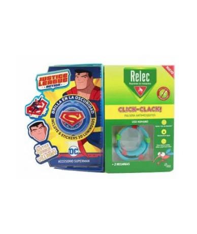 RELEC PULSERA +STICK SUPERMAN