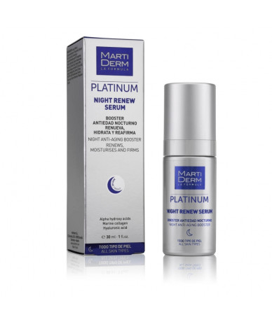 Martiderm Platinum Night Renew Sérum