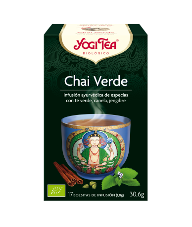 YOGI TEA CHAI VERDE 17...