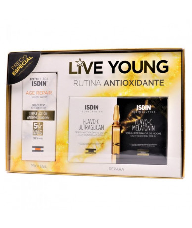 Pack  Isdin Live Young...