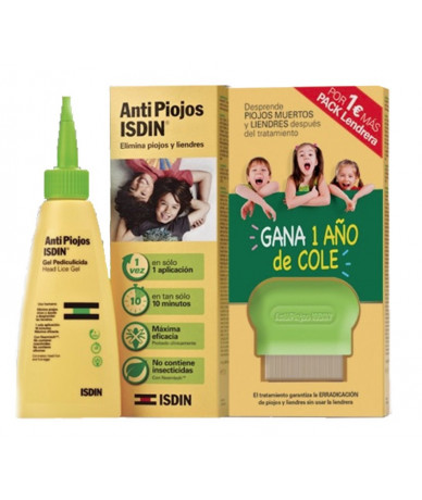 Pack Isdin Antipiojos Gel...