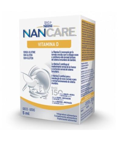 NanCare Vitamina D Gotas 5 ml