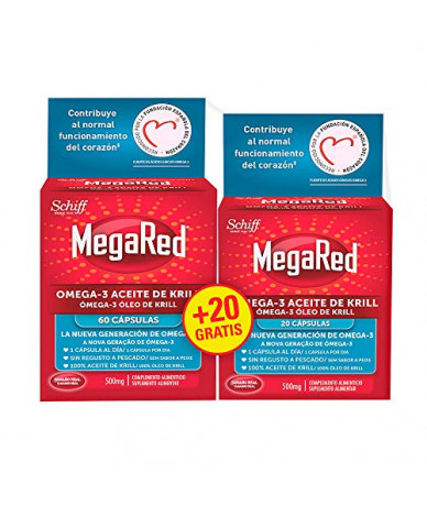 Megared 500 Omega3 Aceite...