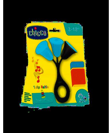 Chicco Sonajero Tulipán Azul