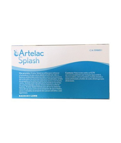 Artelac Splash Multidosis...