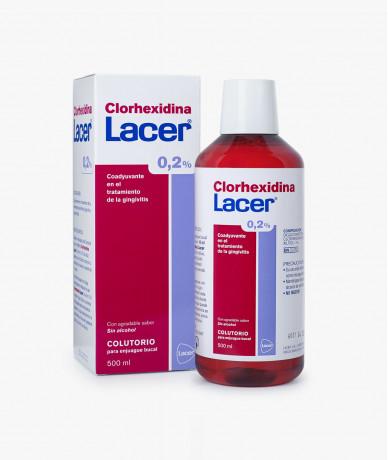 Lacer Clorhexidina 0,2% 500 ml