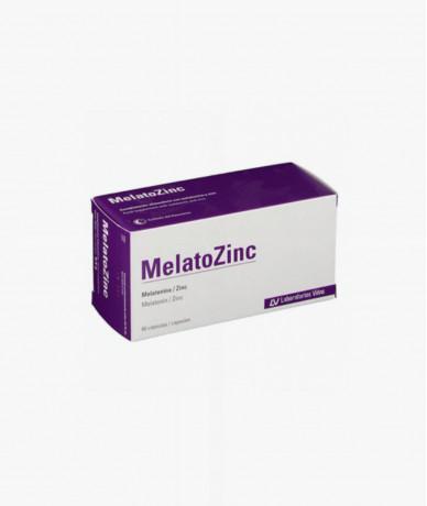 Melatozinc1 Mg 60 Caps