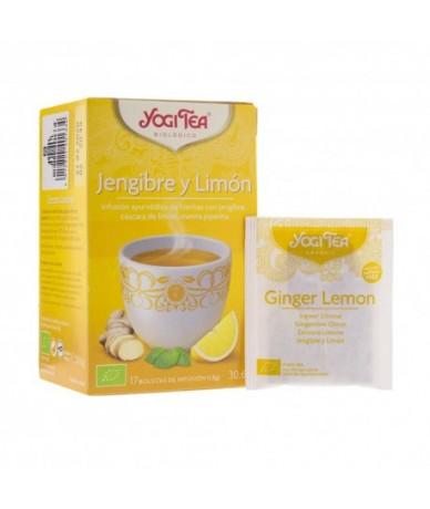 Yogi Tea Jengibre y Limón...