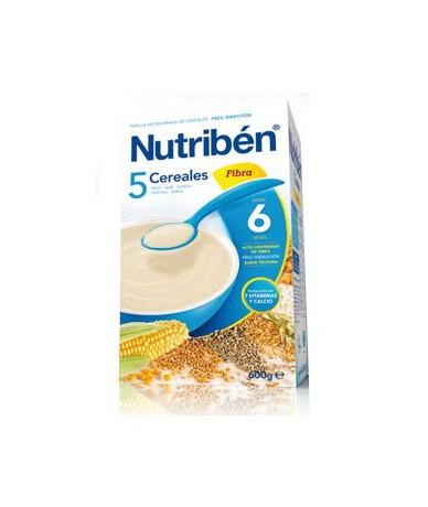 Nutriben Papilla 5 Cereales...
