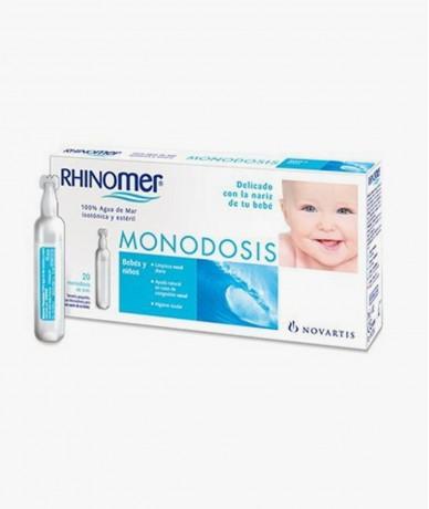 Rhinomer Monodosis 20 Unidades